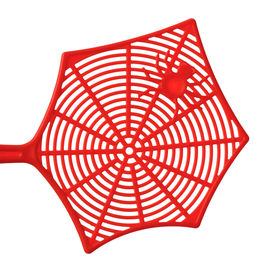 picture of pest control  - Red fly swatter isolated on white background - JPG