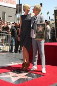 LOS ANGELES - SEP 4:  Ellen DeGeneres] at the Hollywood Walk of Fame Ceremony for Ellen Degeneres at