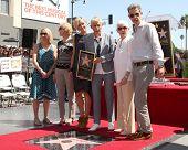 LOS ANGELES - SEP 4:  Portia DeRossi, Ellen DeGeneres, Family at the Hollywood Walk of Fame Ceremony
