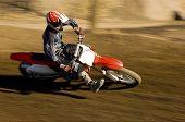 Motocross Racer racing