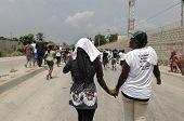 Couple in Haiti