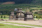 image of arjuna  - Temples of Arjuna complex on plateau Dieng Java - JPG