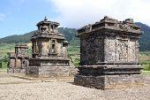 foto of arjuna  - Arjuna complex on Dieng plateau Java Indonesia - JPG