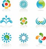 Environmental Logos And Graphic Elements poster