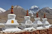 picture of jainism  - Buddhistic stupas  - JPG