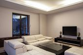 Travertine House - Cosy Living Room
