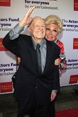 LOS ANGELES - JUN 9: Mickey Rooney and Mitzi Gaynor at The Actors Fund's 17th Annual Tony Awards Vie