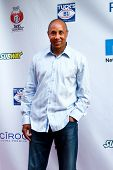 NEW YORK-MAY 30: New York Knicks former player John Starks attends the 5th annual Tuck's Celebrity B