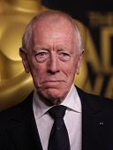 LOS ANGELES - FEB 6:  MAX VON SYDOW arrives to the 2012 Academy Awards Nominee Luncheon  on Feb 6, 2012 in Beverly Hills, CA