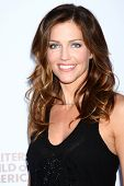 LOS ANGELES - JUN 2:  Tricia Helfer arrives at the WGA's 101 Best Written Series Announcement at the