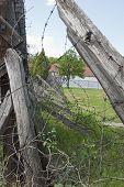 Barbed Wire In Concentation Camp, Nis, Serbia