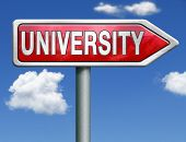 university learn get educated and gather knowledge and wisdom choose university choice university application admission entry requirements red road sign arrow
