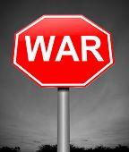 War Concept.