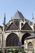 Church Eglise Of Saint Severin In Latin Quarter Paris France Historic Architecture