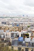 Rooftops Of Paris France Europe Cityscape From Basilica Of The Sacr� C