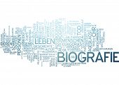 Word cloud -  biography