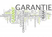 Word cloud -  guaranty poster
