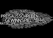 Word cloud -  competition