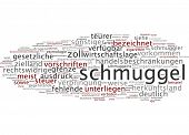 picture of smuggling  - Word cloud  - JPG