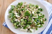 Healthy Salad with Spelt