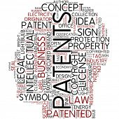 Info-text graphic - patents