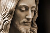 Sepia Of Jesus Christ