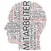 Info-Text-Grafik - Mitarbeiter