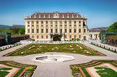 foto of schoenbrunn  - Crown prince privy garden of Schonbrunn Palace in Vienna - JPG