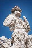 stock photo of schoenbrunn  - Statue of Gloriette - JPG
