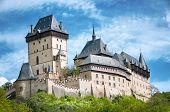 Hrad Karlstejn castle in Czech Republik