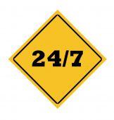 24/7 Roadsign