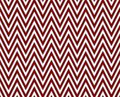 Thin Dark Red And White Horizontal Chevron Striped Textured Fabric Background