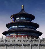 Temple of Heaven (Tian'tan) in Beijing (China)