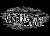 Word cloud - vending culture
