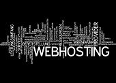 Word cloud - webhosting