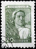 Farm Worker Stamp
