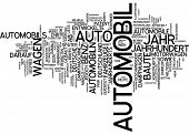 Word cloud - automobile
