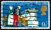 Postage Stamp Gb 1970 Florence Nightingale