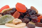 pic of dry fruit  - some dried fruit mix ready to snack on - JPG