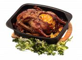 Grilled Duck With Orange