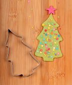 Christmas Tree And Metal Cutter