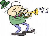 Trumpet musician