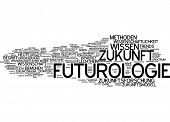 Word cloud - futurology