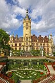 Famous Schwerin Castle, Germany
