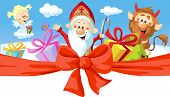 pic of hells angels  - Saint Nicholas devil and angel  - JPG