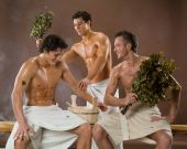 Men After The Bath