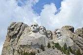 picture of mount rushmore national memorial  - Mount Rushmore National Monument in South Dakota - JPG
