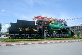 Old steam locomotive no.728