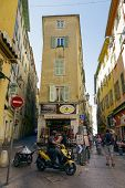 Narrow Streets, Vieille Ville, Nice, France