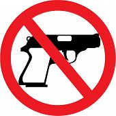 No guns here